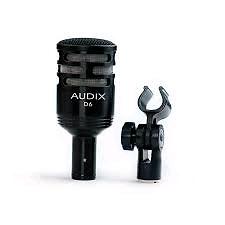 Audix d6 kick drum mic