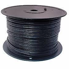 Weekly Promo!  Direct Burial Bulk Speaker Cable CMX,Black, 16AWG 2C 500ft $149(was$199)