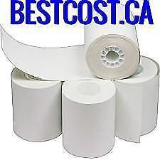 Rouleaux Papier Thermique Caisse Enregistreuse MEV ( 3 1/8 x 200 TH Boite de 50 ) - BESTCOST.CA