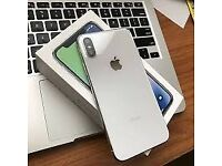 Apple iPhone X - Unlocked to any network - 256 - Silver - Immaculate -