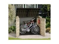 Brand New: Keter Store it Out Plastic Shed Ultra - Big enough for 4 bikes or 3 120l Wheelie bins