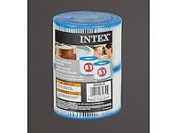 Twin Pack of Intex S1 Hot Tub Spa Filters for Lay Z Spa's