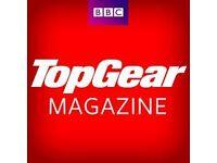Top Gear magazines.