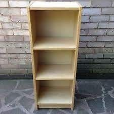 Ikea Aneboda Wardrobe & Billy Bookcase in Beech