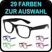 Brille Fensterglas