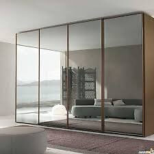 sliding wardrobe doors and track