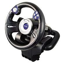 Saitek RX600 Wireless Racing Wheel (New in Box)