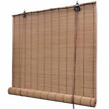 Bamboo roller blinds x2