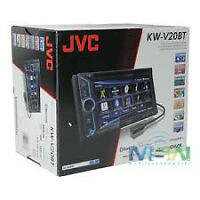 jvc , Bluetooth, DVD DCA IPOD, IPHONE ...,Garante un ans
