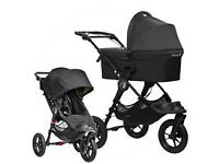 Baby Jogger City Elite single Stroller and Carry cot