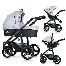 Venicci pram,Denim Grey with bluck frame,good condition,used only 6.moths. the