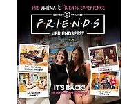 2 x Friendsfest Tickets Glasgow with Set Tour on the 15th of July now £40
