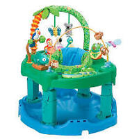 $55 obo-Exersaucer,Folds,Heights,Musical toys,Unisex,Washable