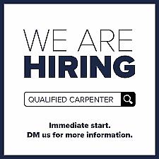 Qualified Carpenter Required
