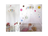 Fabler baby bed canopy from IKEA,