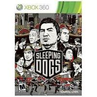 Sleeping Dogs XBox 360 video game