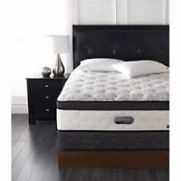 """Brand New Simmons """"Tchaikowsky"""" queen mattress and boxspring"""