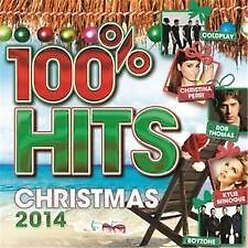 100% Hits Christmas 2014-Coldplay Kylie Minogue Boyzone Christina Perri& Mor-NEW
