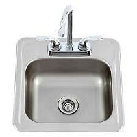 BAR  SINK WITH TAPS