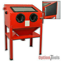 SANDBLASTING CABINET AND PORTABLE 100 LB BLASTER WANTED IN TRADE