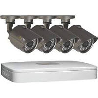 4 camera with 500GB dvr new  Q.SEE