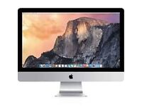 iMac (24-inch Mid 2009) Processor: 2 GHz Intel core 2 Duo Memory: 4GB Storage: 500GB