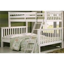 BRAZILIAN WOODEN AND METAL BUNK BED