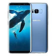 SAMSUNG S8 USED/GRADE B+ & UNLOCKED -CORAL BLUE-CAN BE SWAPPED IN STORE FOR ITEM/CASH