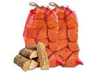 Bags of logs for sale