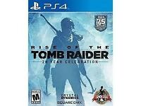 Rise of the Tomb Raider, PS4