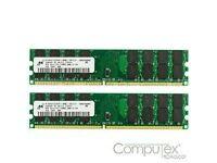 2 GB RAM DDR2 (2 x 1GB) Desktop RAM - upgrade or replace your RAM!