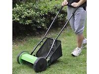 push along mower