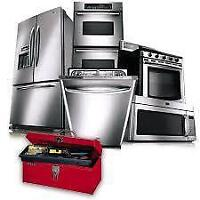 WASHER,DRYER, REFERIGERATOR, DISHWASHER INSTALLATION AND REPAIR