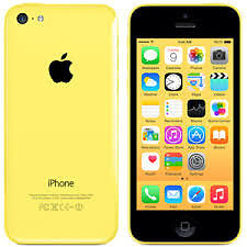 APPLE iPhone 5C 8GB YELLOW FACTORY UNLOCKED 6 MONTHS WARRANTY GOOD CONDITION LAPTOP/PC USB LEAD