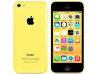 APPLE iPhone 5C 8GB YELLOW FACTORY UNLOCKED 6 MONTHS WARRANTY GOOD CONDITION LAPTOP/PC USB LEAD