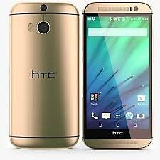 HTC ONE M8 (GOLD,UNLOCKED NETWORK,GOOD CONDITION )