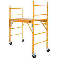 Metaltech scaffolding $150/section