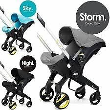 Doona Infant Carseat Stroller in Storm Grey, Brand New in Box