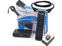 v7sat oopenbox skybox wd wifi stick and 12 mnth gft