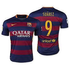 FC Barcelona Soccer Jersey Suarez 9 High Quality