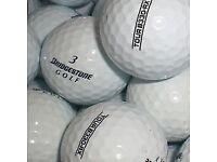 50 mix bridgestone golfballs