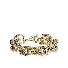 Clic Pave Link Bracelet