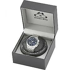 CITIZEN MEN'S SATELLITE WAVE-WORLD TIME GPS RADIO CONTROLLED ECO-DRIVE WATCH CC3020-57L