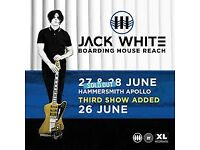 JACK WHITE 1 x standing ticket 26th June