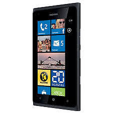 Brand New Nokia Lumia 900 Phone Windows Mango 16GB 8MP WiFi GPS Unlocked Black