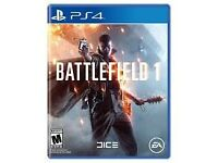 Ps4 Battlefield 1 for sale
