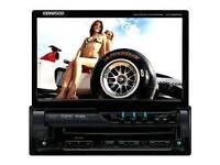 Kenwood kvt522 flip screen dvd