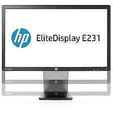 "HP EliteDisplay E231 23"" LED Backlit TN LCD Monitor C9V75AA"