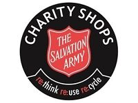 The Salvation Army Clothing Collection For Our Charity Shops
