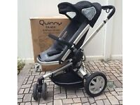 Quinny buzz push chair with free footmuff and rain cover